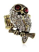 Amrita Singh Anillo Sitting Owl (Plateado)