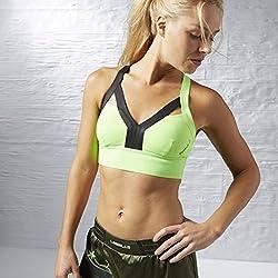 Reebok Seamless Sports Bra (AJ1110_Green_44B)