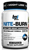 BPI Sports Nite Burn Nighttime Weight Management Formula 30-Count