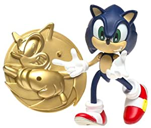 Amazon Com 3 4 Quot Sonic Adventure Action Figure Sonic The