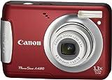 Canon デジタルカメラ PowerShot (パワーショット) A480 レッド PSA480(RE)