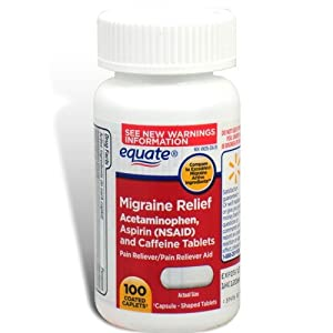 Amazon.com: Equate - Migraine Relief, 100 Coated Caplets (Compare to