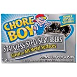 Chore Boy Stainless Steel Scrubbers 2 / Pack