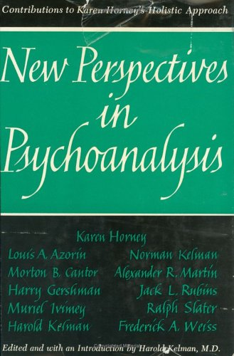 New Perspectives in Psychoanalysis