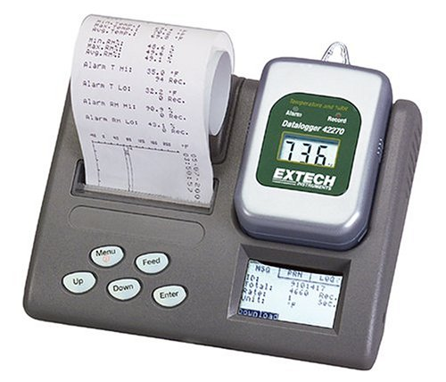 Temperature/Humidity Datalogger with Printer - Extech Instruments - EX-42276 - ISBN: B00023RVQ6 - ISBN-13: 0793950422762