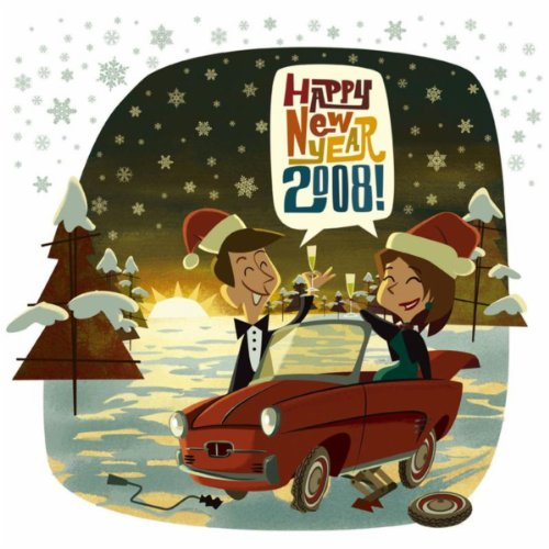 Original album cover of Happy New Year 2008 by Various artists