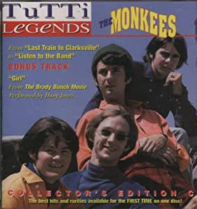 The Monkees - Tutti Legends: The Monkees - Amazon.com Music