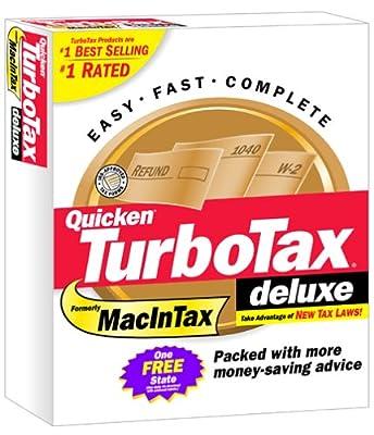 TurboTax 2001 Deluxe