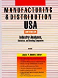 img - for Manufacturing & Distribution USA: Industry Analyses, Statistics and Leading Companies (Manufacturing and Distribution USA) 3voi. set book / textbook / text book