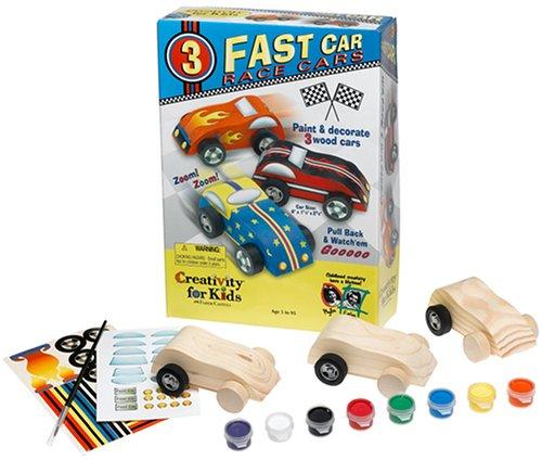 Creativity For Kids Fast Car Race Cars