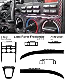 Prewoodec Cockpit Dekor f�r Landrover Freelander LN 01.1998 - 10.2006 Carbon-Fiber (Exklusive 3D Fahrzeug-Ausstattung - Made in Germany)