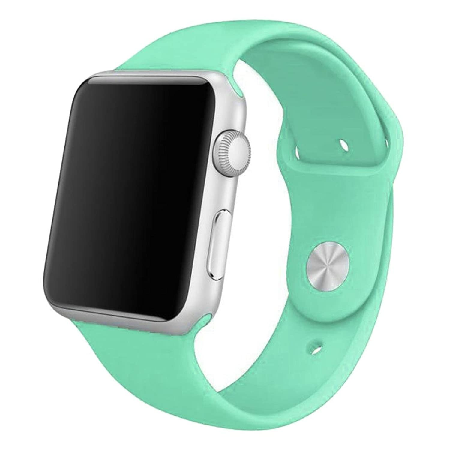 Apple Watch 42mm,GBSELL New Sports Silicone Bracelet Strap Band For Apple Watch 42mm