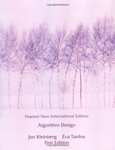 Algorithm Design: Pearson New International Edition