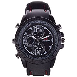 M MHB Spy Wrist Watch 16GB memory Hidden Audio/video Recording .Original Brand Only Sold by M MHB.While recording no light Flashes .