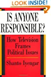Is Anyone Responsible?: How Television Frames Political Issues (American Politics and Political Economy)
