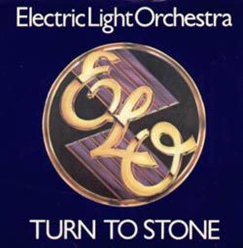 """Turn To Stone 7 Inch (7"""" Vinyl 45) Uk Jet 1977"""