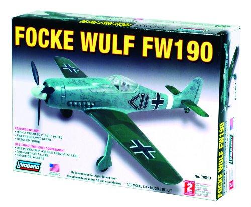 Lindberg 1:72 scale Focke Wulf FW-190 - 1