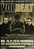 Poster - Volbeat - München 2010 - Konzert Plakat / Poster von Volbeat
