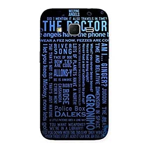 Gorgeous Angle Doc Multicolor Back Case Cover for Galaxy Core Prime