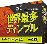 MIZUNO(ミズノ) ゴルフボール JPX ネクスドライブ ユニセックス 5NJBM72540 オレンジ 1ダース