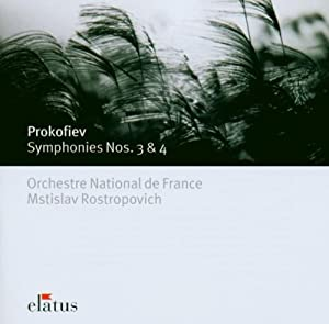 Prokofiev: Symphonies Nos. 3 & 4
