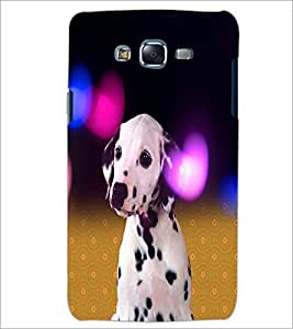 PrintDhaba Cute Dog D-2829 Back Case Cover for SAMSUNG GALAXY J5 (Multi-Coloured)
