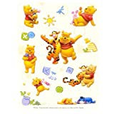 DisneyPooh Raised Sticker Sheet by UPD INC