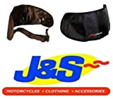 DR BIKE VISOR BAG MOTORCYCLE MOTORBIKE DARK VISOR BAG POUCH DRVB1 J&S