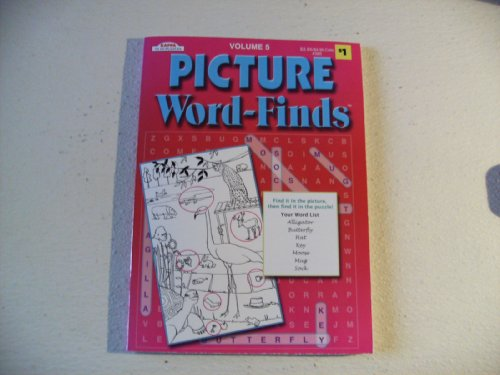 Picture Word Finds Puzzle Book - 1