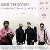 Beethoven: Complete Quartets, Vol. 3