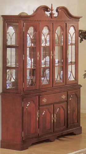 Cheap Contemporary Chippendale Hutch/buffet (VF_AZ02-14209)