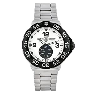 TAG Heuer Men's WAH1011.BA0854 Formula 1 Grande Date White Dial Stainless Steel Watch from TAG Heuer