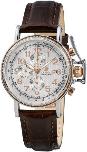 Carucci Gents Watch Quartz Chronograph Ca1128B-Rg-Wh