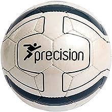 Precision Sao Paulo Fútbol Bola Cosidos A Mano fútbol Blanco/Grafito