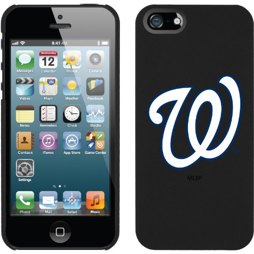 Best Price Washington Nationals - W design on a Black iPhone 5 Thinshield Snap-On Case by Coveroo