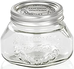 Leifheit Preserve Jar Set, 500ml, Set of 6