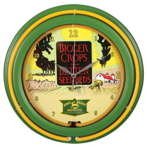Amazoncom john deere tractor clock