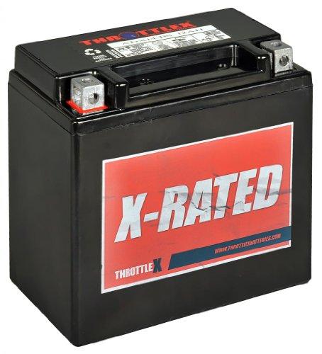 Throttlex Batteries - Adx14-Bs - Agm Replacement Power Sport Battery