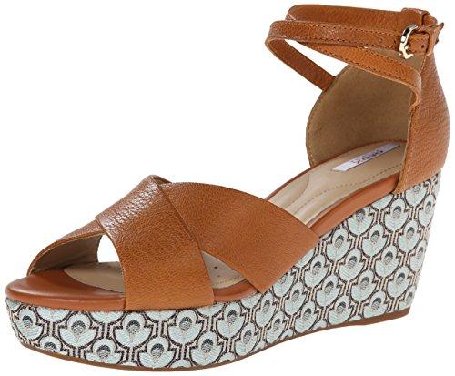 Geox Donna Thelma sandali con tacco marrone Size: EU 36.5