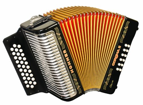 Hohner 3523GB 15.5-Inch 43-Key Accordion