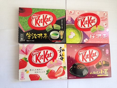 Kit Kat Mixed 12 Pcs. 4 Flavors