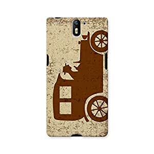 ArtzFolio Vintage Car : OnePlus One Matte Polycarbonate ORIGINAL BRANDED Mobile Cell Phone Protective BACK CASE COVER Protector : BEST DESIGNER Hard Shockproof Scratch-Proof Accessories