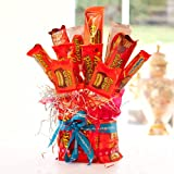 Reese's American Candy Sweet Bouquet - Perfect Birthday Gift or Party Centerpiece