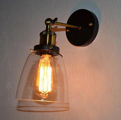 bardages-vintage-en-fer-forge-verre-restaurant-chambre-chevet-lampe-de-mur