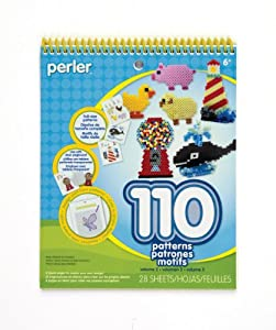 Perler Beads Perler Pattern Pad, Volume 2