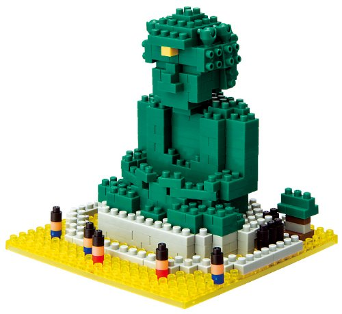 nanoblock Great Buddha of Kamakura NON-LEGO Kawada JAPAN