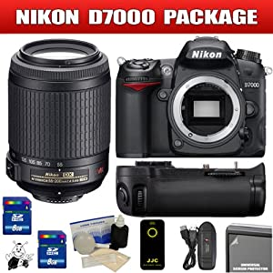 Nikon D7000 16.2MP DX-Format CMOS Digital SLR - 3