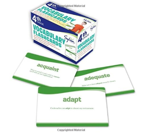 Fourth Grade Vocabulary Flashcards (Flashcards Language Arts) PDF