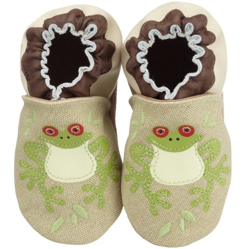 Robeez Infant/Toddler Organic Frog Soft Sole