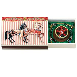 Gold Label 3 1/4-Inch Wide Matchbox Melodies, Carousel
